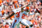 Jordan Poyer and Joe Haden Cleveland Browns Canvas