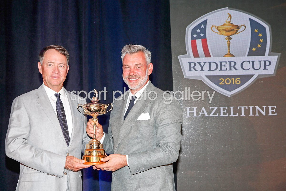 2016 Ryder Cup Captains Davis Love & Darren Clarke