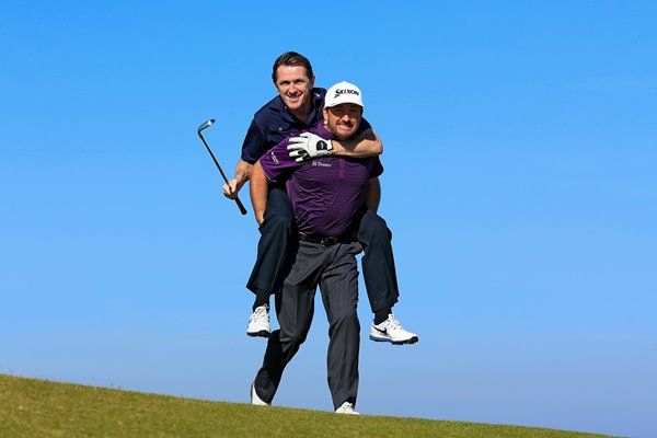 AP McCoy & Graeme McDowell Dunhill Links Chase 2015