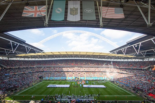 Miami Dolphins v New York Jets Wembley Stadium London 2015