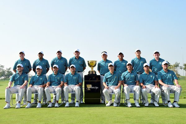 2015 International Team Presidents Cup South Korea