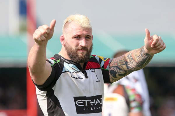 Joe Marler AVIVA Premiership Semi Final 2014