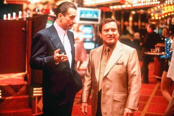 "Robert De Niro and Joe Pesci in ""Casino"""