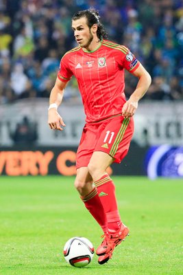 Gareth Bale Wales v Bosnia and Herzegovina EURO 2016 Qualifier