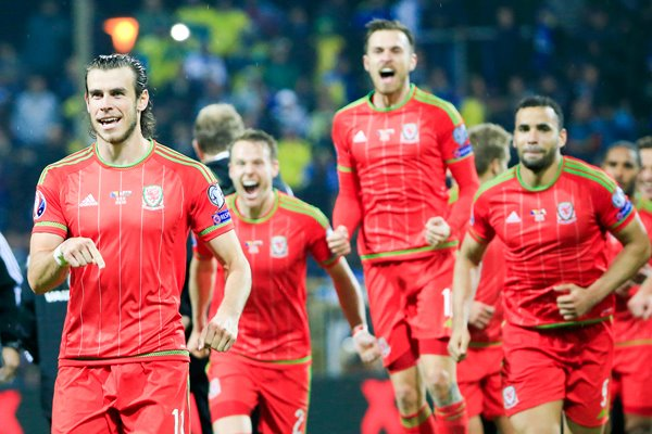 Gareth Bale Wales EURO 2016 Qualification