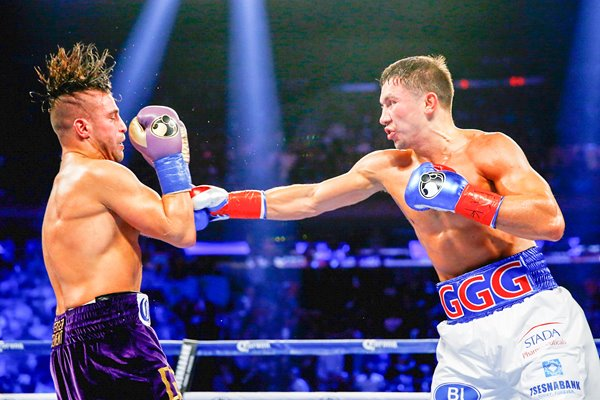 Gennady Golovkin v David Lemieux New York 2015