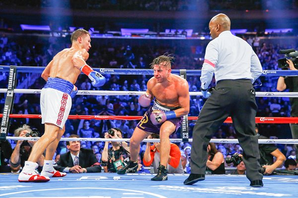 Gennady Golovkin beats David Lemieux New York 2015
