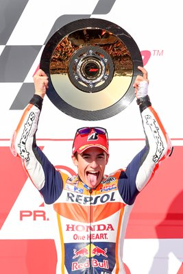 Marc Marquez MotoGP of Australia 2015 Winner