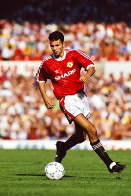 Ryan Giggs Manchester United Old Trafford 1991