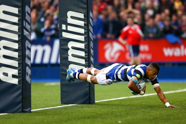 Anthony Watson Bath Try Amlin Challenge Cup Final 2014