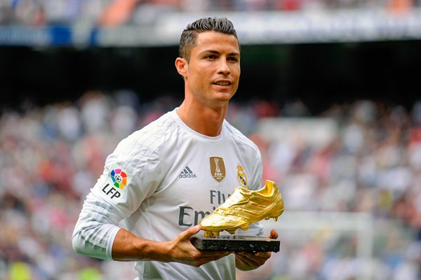 2015 Cristiano Ronaldo Real Madrid Golden Shoe