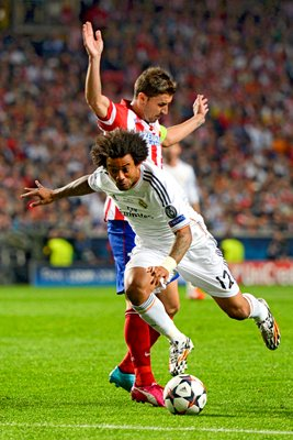 Real Madrid Marcelo Champions League Final 2014