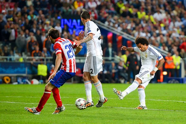 Real Madrid Marcelo Goal Champions League Final 2014