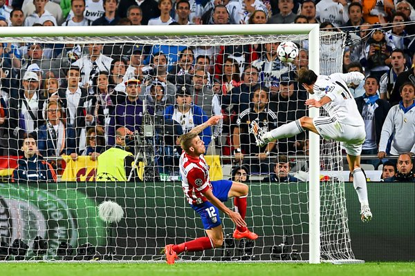 Real Madrid Gareth Bale Goal Champions League Final 2014