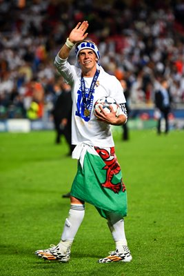 Gareth Bale Real Madrid Champions League Winner 2014