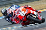 Nicky Hayden leads Ben Spies Le Mans 2011 Prints