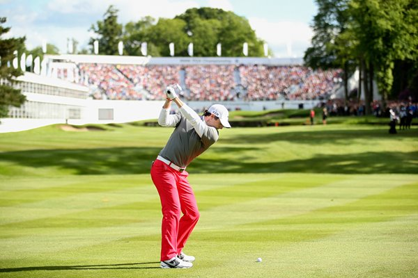 Rory McIlroy 18th Hole PGA Wentworth 2014