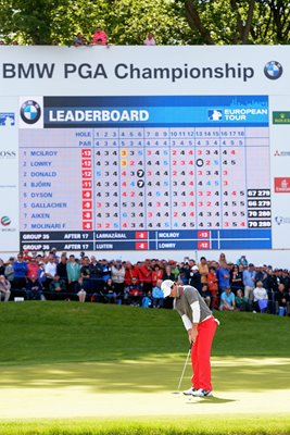 Rory McIlroy PGA Champion 18th Hole Wentworth 2014