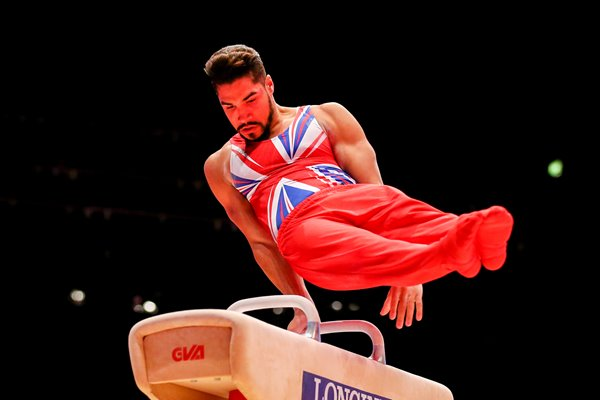 Louis Smith Great Britain Pommel 2015 World Gymnastics