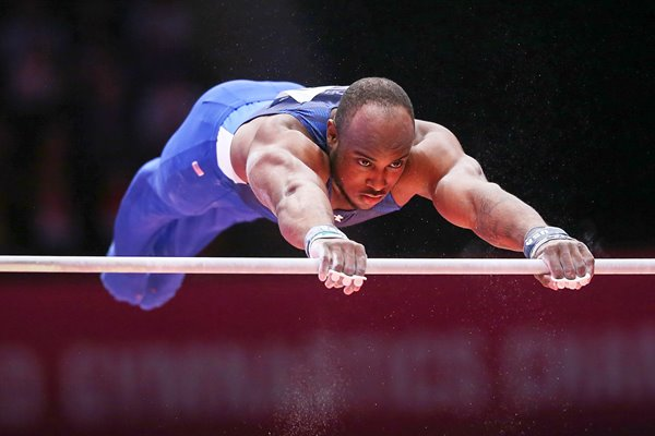 Donnell Whittenburg World Gymnastics Glasgow 2015