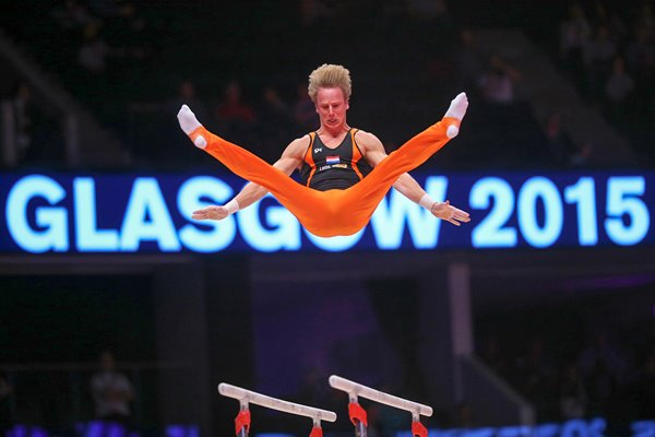Epke Zonderland Netherlands World Gymnastics 2015