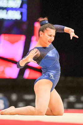 Claudia Fragapane Great Britain World Gymnastics 2015