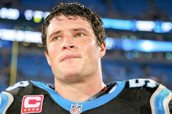 Luke Kuechly #59 Carolina Panthers Portrait