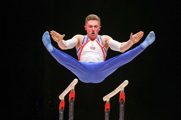 Nile Wilson Great Britain Rings 2015 World Gymnastics