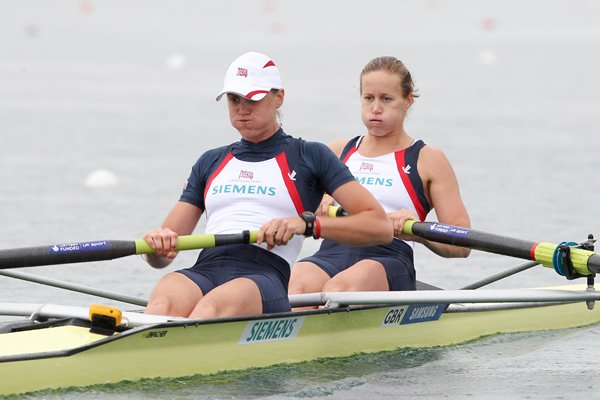 Helen Glover and Heather Stanning World Cup 2011