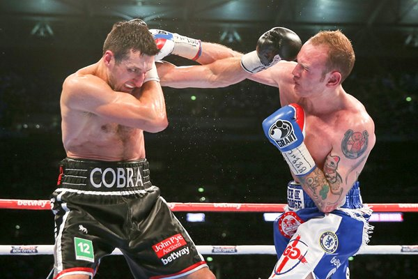 Carl Froch v George Groves World Title Fight Wembley 2014