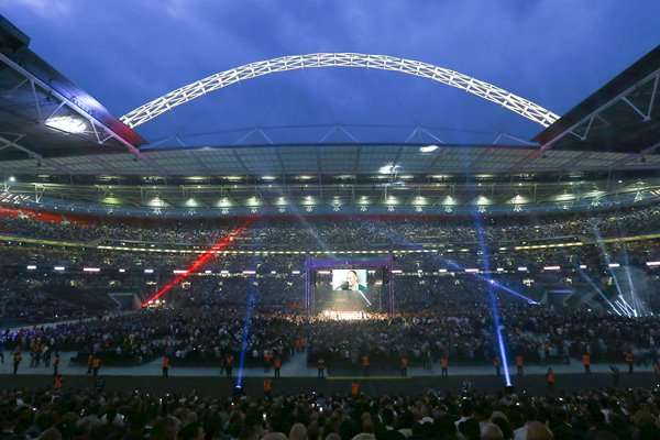 Carl Froch v George Groves Wembley Stadium 2014