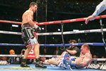Carl Froch knocks out George Groves Wembley 2014 Prints