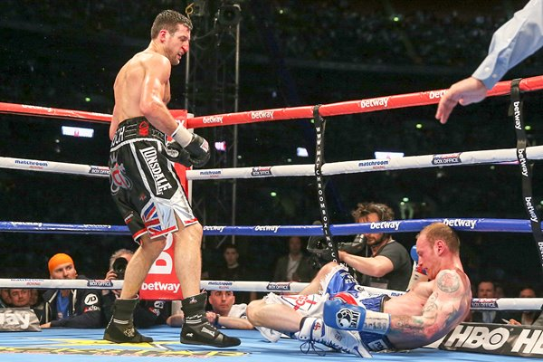Carl Froch knocks out George Groves Wembley 2014
