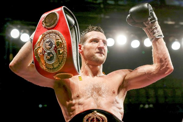 Carl Froch retains IBF & WBA World Super Middleweight Titles Wembley 2014