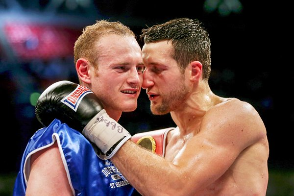 Carl Froch & George Groves Wembley 2014