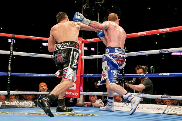 Carl Froch knockout punch v George Groves Wembley 2014