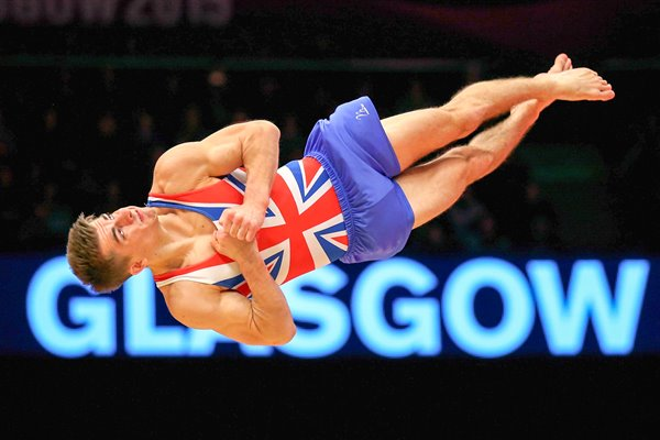 Max Whitlock Great Britain Floor World Gymnastics
