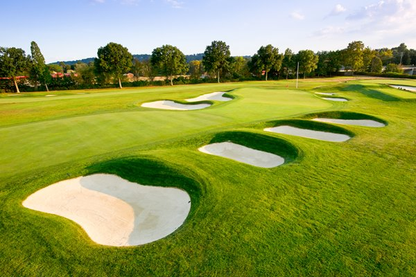 Oakmont Country Club 4th Hole US Open 2016