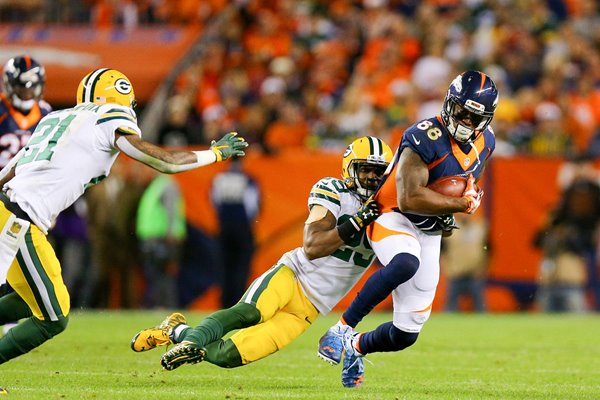 Demaryius Thomas Denver Broncos v Green Bay Packers