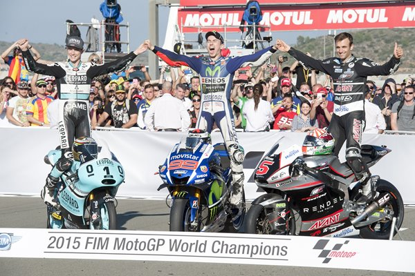 2015 World Champions MotoGP of Valencia