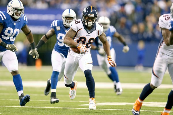 Demaryius Thomas Denver Broncos v Indianapolis Colts