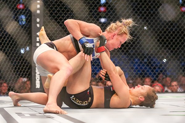 Holly Holm v Ronda Rousey Melbourne 2015
