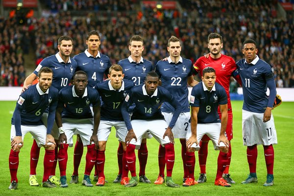 France team v England Wembley November 2015