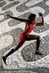 Allyson Felix United States Portrait Mounts