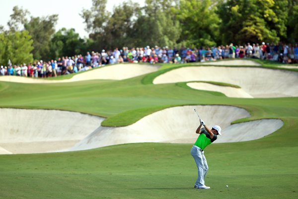 Rory McIlroy DP World Tour Championship Dubai 2015