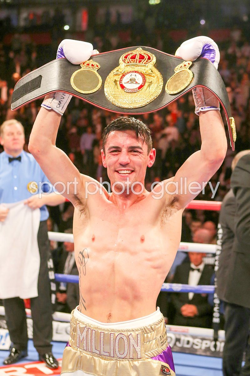 Anthony Crolla WBA World Lightweight Champion 2015