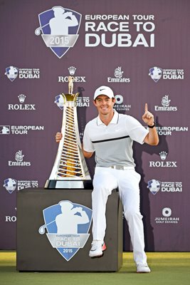 Rory McIlroy DP World Tour & Race to Dubai Winner 2015