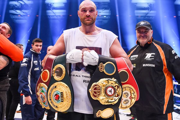 Tyson Fury World Heavyweight Champion Germany 2015