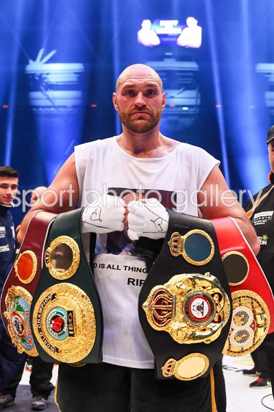 Tyson Fury IBF IBO WBA WBO Heavyweight World Champion