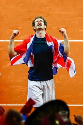 Andy Murray Great Britain Davis Cup Champion 2015